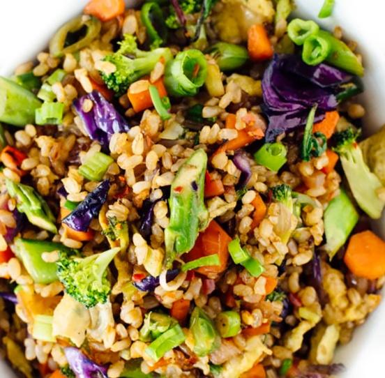 extra veggie rice